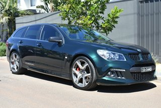 2014 Holden Special Vehicles ClubSport Gen-F MY14 R8 Tourer Green 6 Speed Sports Automatic Wagon
