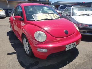 2005 Volkswagen Beetle 9C MY2005 Coupe Red 4 Speed Automatic Liftback.