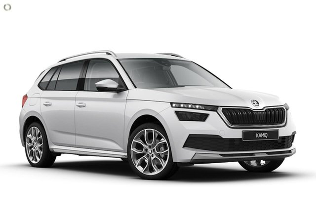 New Skoda Kamiq NW MY20.5 85TSI DSG FWD Seaford, 2020 Skoda Kamiq NW MY20.5 85TSI DSG FWD White 7 Speed Sports Automatic Dual Clutch Wagon