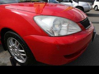 2007 Mitsubishi Lancer CJ ES Red 6 Speed CVT Auto Sequential Sedan