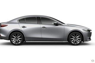 2020 Mazda 3 BP2SHA X20 SKYACTIV-Drive Astina Silver 6 Speed Sports Automatic Sedan.