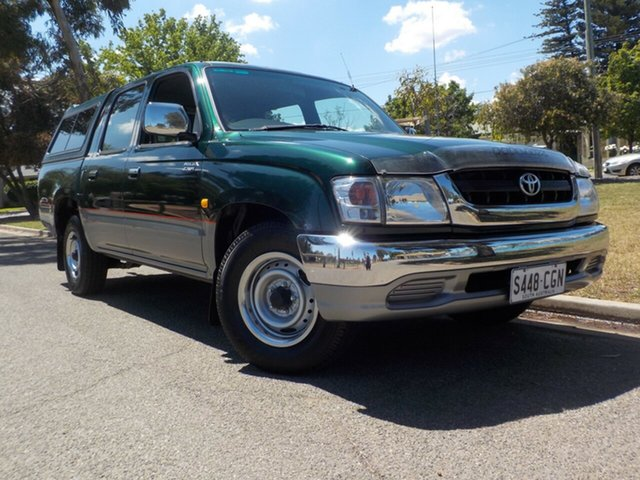 Used Toyota Hilux RZN149R MY02 SR5 4x2 Broadview, 2002 Toyota Hilux RZN149R MY02 SR5 4x2 5 Speed Manual Utility