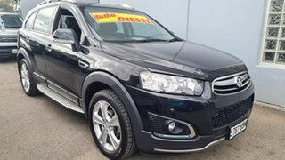 2014 Holden Captiva CG MY14 7 AWD LTZ Black Sapphire 6 Speed Sports Automatic Wagon.