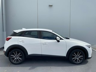 2015 Mazda CX-3 DK2W7A sTouring SKYACTIV-Drive White 6 Speed Sports Automatic Wagon.