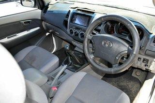 2009 Toyota Hilux KUN26R MY09 SR5 Xtra Cab Silver 5 Speed Manual Utility