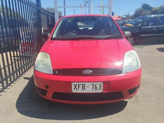 2005 Ford Fiesta WP LX Red 5 Speed Manual Hatchback.