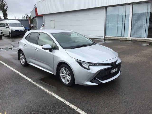 Used Toyota Corolla Mzea12R SX, 2019 Toyota Corolla Mzea12R SX Premium Silver 10 Speed Constant Variable Hatchback