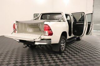 2018 Toyota Hilux GUN126R SR5 Double Cab Crystal Pearl 6 speed Automatic Utility