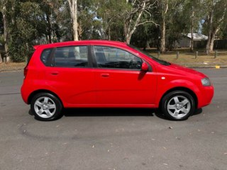 2007 Holden Barina TK MY07 Red 4 Speed Automatic Hatchback.