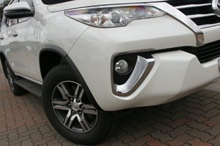 2019 Toyota Fortuner GUN156R GXL Pearl White 6 Speed Automatic SUV.