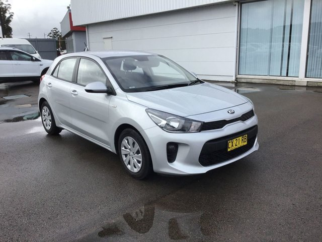 Used Kia Rio YB MY19 Sport, 2018 Kia Rio YB MY19 Sport Silver 6 Speed Automatic Hatchback