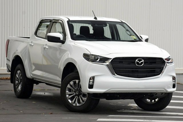 New Mazda BT-50 TFS40J XT Paradise, 2021 Mazda BT-50 TFS40J XT Ice White 6 Speed Sports Automatic Utility