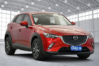 2017 Mazda CX-3 DK2W7A sTouring SKYACTIV-Drive Soul Red 6 Speed Sports Automatic Wagon.