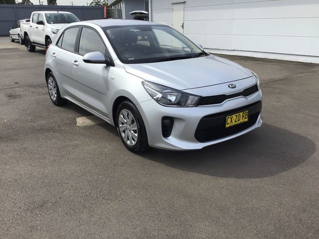 Used Kia Rio YB MY19 Sport, 2018 Kia Rio YB MY19 Sport Silky Silver 6 Speed Automatic Hatchback