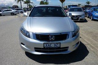 2008 Honda Accord 8th Gen V6 Silver 5 Speed Sports Automatic Sedan.