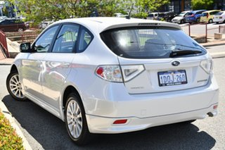 2011 Subaru Impreza G3 MY11 R AWD Satin White Pearl 4 Speed Sports Automatic Hatchback.