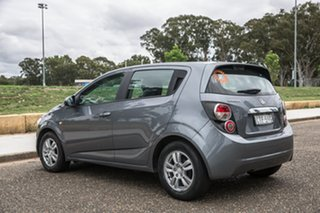 2014 Holden Barina TM MY15 CD Trio Grey 6 Speed Automatic Hatchback