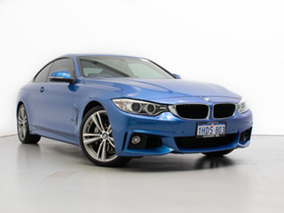 2016 BMW 435i F32 MY15 Blue 8 Speed Automatic Coupe.