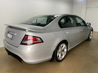 2012 Ford Falcon FG MK2 XR6 Silver 6 Speed Manual Sedan.