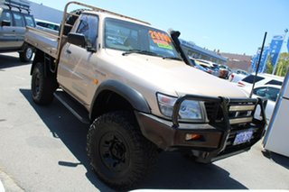 2002 Nissan Patrol GU ST Gold 5 Speed Manual Cab Chassis