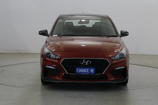 2018 Hyundai i30 PD.3 MY19 N Line D-CT Fiery Red 7 Speed Sports Automatic Dual Clutch Hatchback.