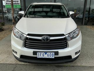 2015 Toyota Kluger GSU55R Grande (4x4) White 6 Speed Automatic Wagon.