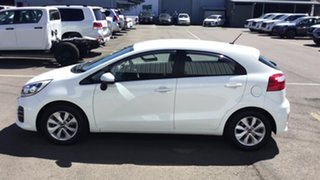 2015 Kia Rio UB MY15 S-Premium White 4 Speed Sports Automatic Hatchback