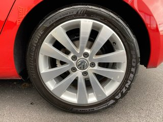 2009 Volkswagen Golf VI MY10 103TDI DSG Comfortline Red 6 Speed Sports Automatic Dual Clutch
