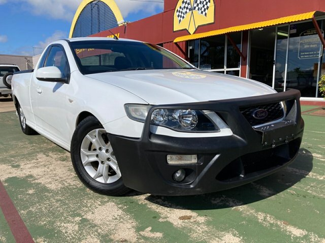 Used Ford Falcon FG R6 Super Cab Toowoomba, 2008 Ford Falcon FG R6 Super Cab 5 Speed Sports Automatic Cab Chassis