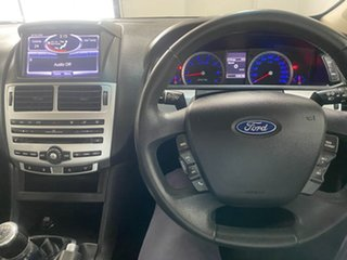 2012 Ford Falcon FG MK2 XR6 Silver 6 Speed Manual Sedan