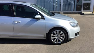 2011 Volkswagen Golf VI MY11 118TSI DSG Comfortline Silver 7 Speed Sports Automatic Dual Clutch.