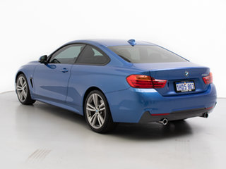 2016 BMW 435i F32 MY15 Blue 8 Speed Automatic Coupe