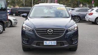 2016 Mazda CX-5 KE1022 Akera SKYACTIV-Drive i-ACTIV AWD Blue 6 Speed Sports Automatic Wagon.
