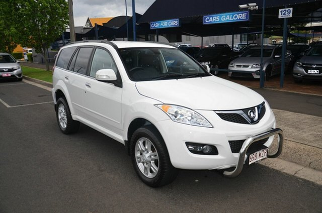 Used Great Wall X200 CC6461KY MY11 (4x4) Toowoomba, 2013 Great Wall X200 CC6461KY MY11 (4x4) White 5 Speed Automatic Wagon