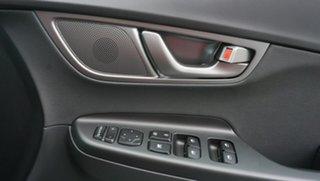 2020 Hyundai Kona OSEV.2 MY20 electric Highlander Chalk White & Phantom Black Roof 1 Speed