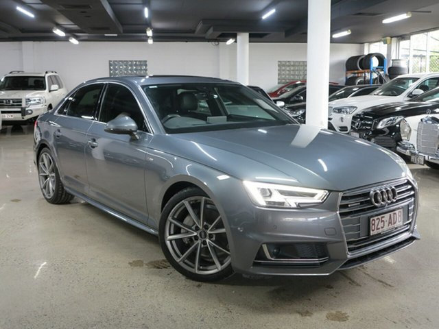 Used Audi A4 B9 8W MY17 Sport S Tronic Quattro Albion, 2017 Audi A4 B9 8W MY17 Sport S Tronic Quattro Grey 7 Speed Sports Automatic Dual Clutch Sedan