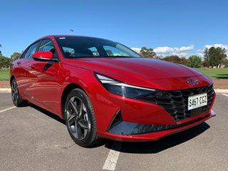 2020 Hyundai i30 CN7.V1 MY21 Active Fiery Red 6 Speed Sports Automatic Sedan.
