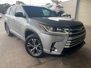 2018 Toyota Kluger GSU55R GX AWD Silver 8 Speed Sports Automatic Wagon.