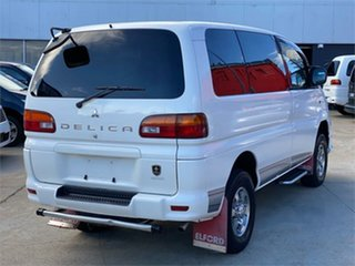 2003 Mitsubishi Delica PD6W Spacegear White Automatic Van Wagon