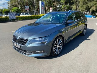 2016 Skoda Superb NP MY16 162TSI Sedan DSG Grey 6 Speed Sports Automatic Dual Clutch Liftback.