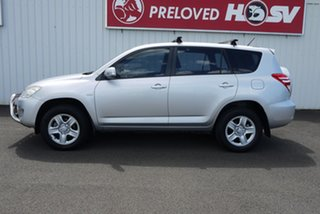 2011 Toyota RAV4 ACA33R MY11 CV Silver 4 Speed Automatic Wagon