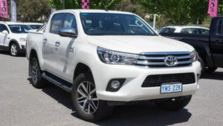 2018 Toyota Hilux GUN126R SR5 Double Cab 6 Speed Sports Automatic Utility.