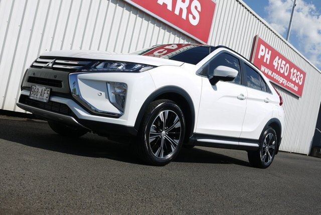 Used Mitsubishi Eclipse Cross YA MY18 Exceed 2WD, 2017 Mitsubishi Eclipse Cross YA MY18 Exceed 2WD White 8 Speed Constant Variable Wagon