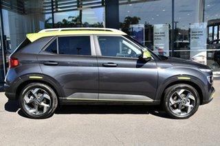 2020 Hyundai Venue QX.2 MY20 Elite Cosmic Grey & Acid Yellow Roof 6 Speed Automatic Wagon