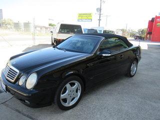 2000 Mercedes-Benz CLK230 Kompressor A208 CLK230 Kompressor Avantgarde Black 5 Speed Automatic.