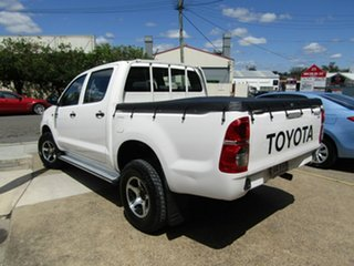 2011 Toyota Hilux GGN25R MY10 SR White 5 Speed Manual Utility