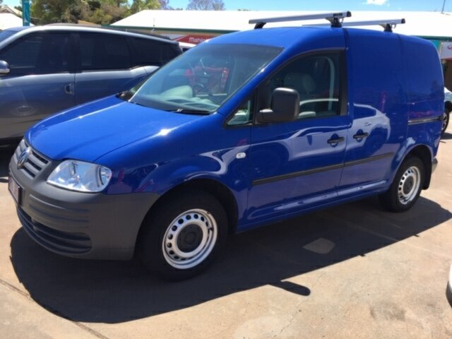 Used Volkswagen Caddy 2K MY07 1.9 TDI, 2006 Volkswagen Caddy 2K MY07 1.9 TDI Blue 6 Speed Direct Shift Van