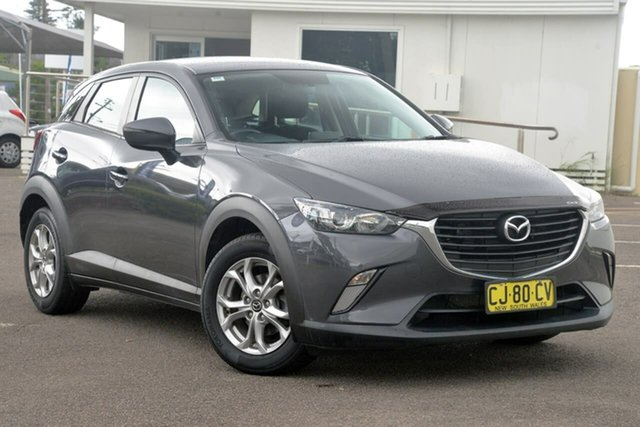 Used Mazda CX-3 DK2W7A Maxx SKYACTIV-Drive North Gosford, 2016 Mazda CX-3 DK2W7A Maxx SKYACTIV-Drive Grey 6 Speed Sports Automatic Wagon