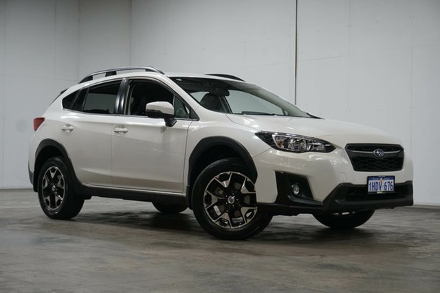 Used Subaru XV G5X MY18 2.0i-L Lineartronic AWD Welshpool, 2017 Subaru XV G5X MY18 2.0i-L Lineartronic AWD White 7 Speed Constant Variable Wagon