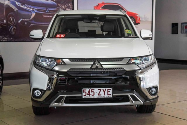 Demo Mitsubishi Outlander ZL MY20 LS 2WD, 2020 Mitsubishi Outlander ZL MY20 LS 2WD White 6 Speed Constant Variable Wagon